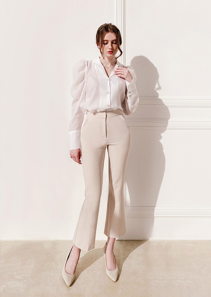 Short Slacks (Ivory)