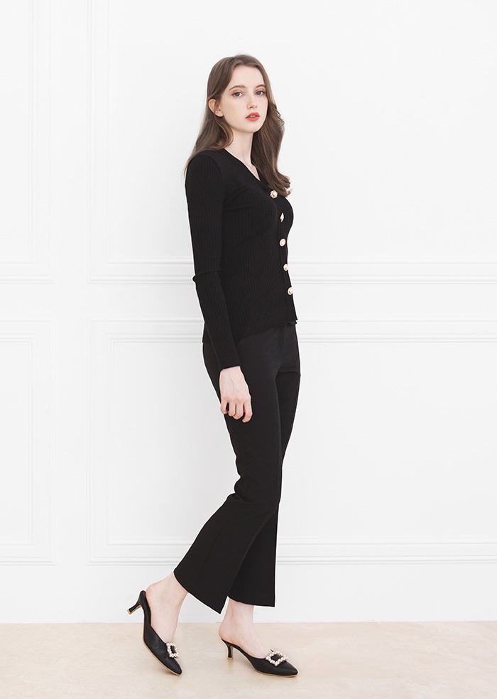 Short Slacks (Black)
