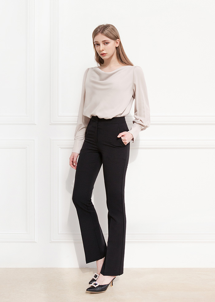 Long Slacks (Black)