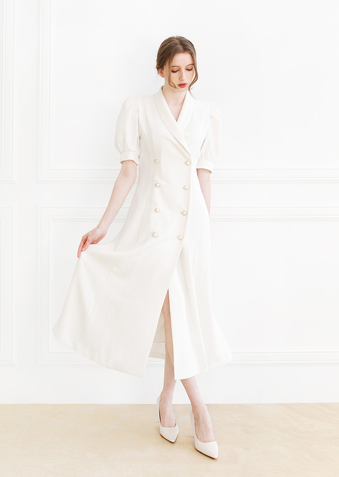 Double Jacket One-piece (Ivory)