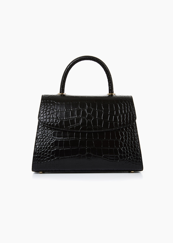 Grace Plie Bag (Black)