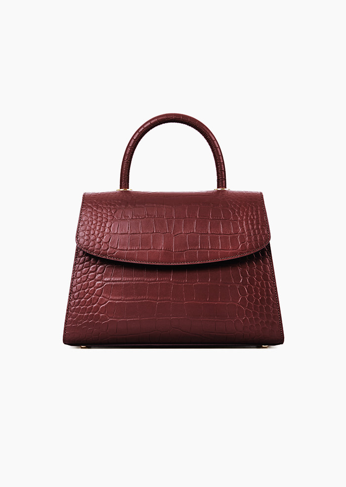 Grace Plie Bag (Wine)