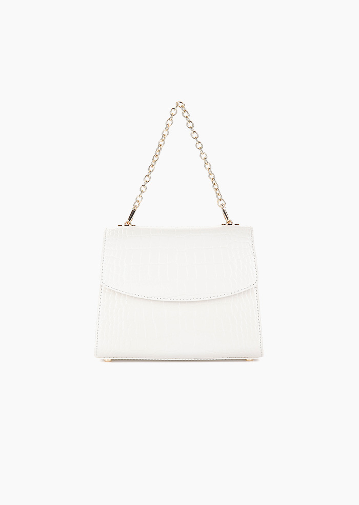 Grace Plie Mini Bag (White)