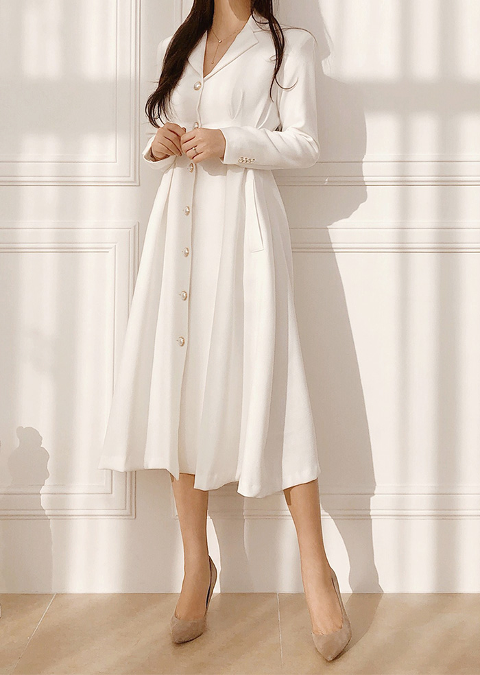 Blanc One-piece (White)