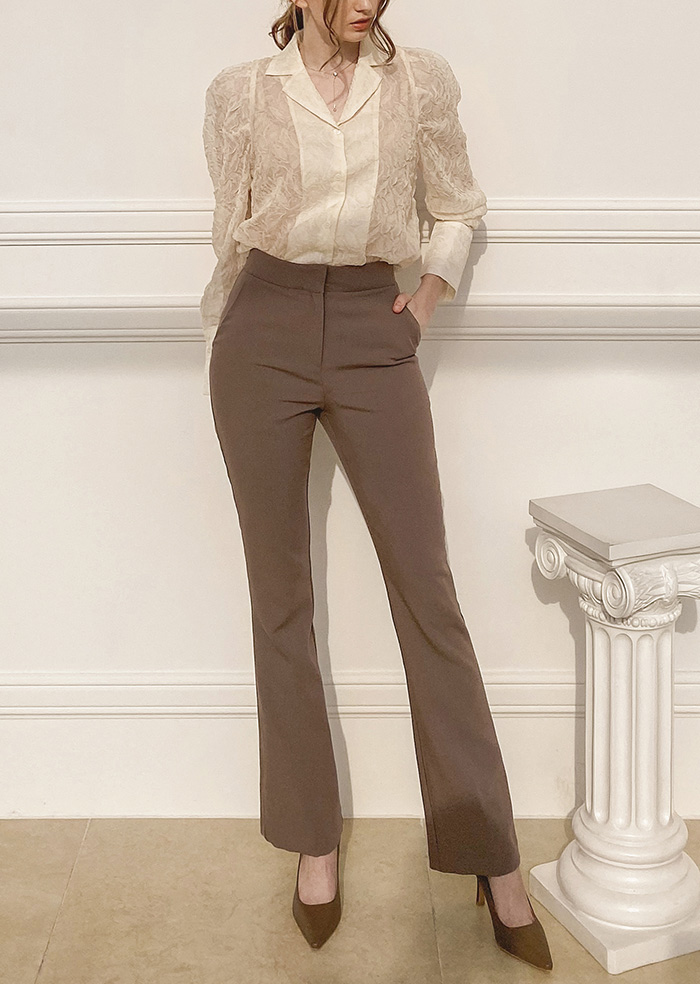 Long Slacks (Brown)