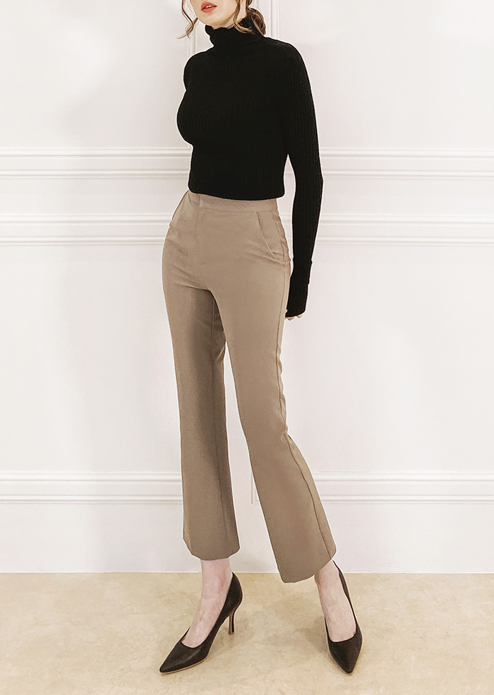 Short Slacks (Brown)
