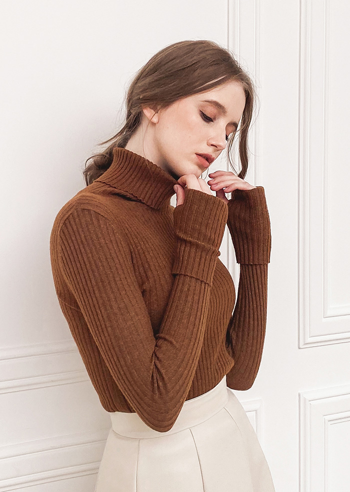 Soft Turtleneck (5color)